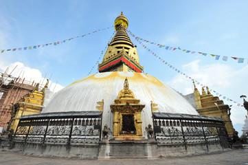 Swayambhunath stupa in Kathmandu - Nepal