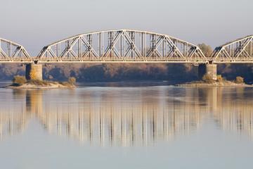 Obraz Most kolejowy - fototapety do salonu