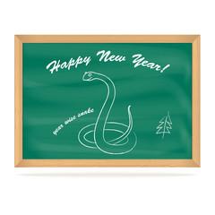 School Board with snake