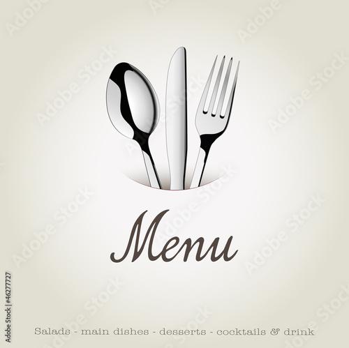 Menu restaurant fichier vectoriel libre de droits sur la for Menu entre amis marmiton