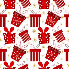 Christmas present pattern
