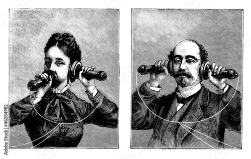 telephone 19th century stock photo and royalty free images on