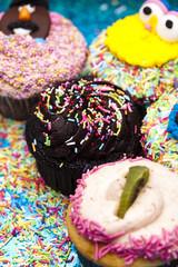 Sweet muffin cake