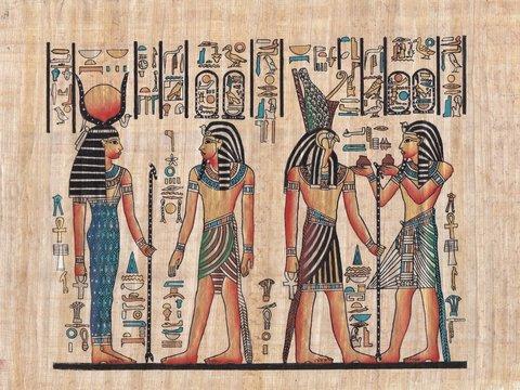 Original egyptian papyrus