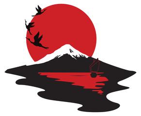 miniature symbolizing Japan
