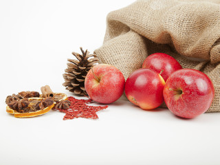Äpfel aus dem Sack