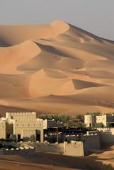 Wall Murals Desert Blockhouse in the desert