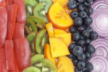 Fruit and vegetable textures - Circus of citrus fruits