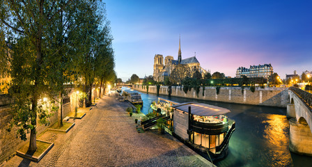 Canvas Print - Notre Dame de Paris, France