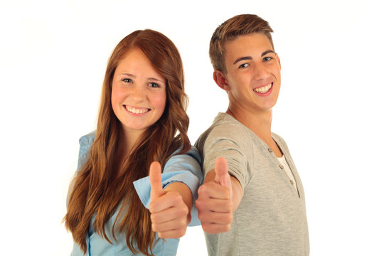 2 Teens Daumen 1.11.12