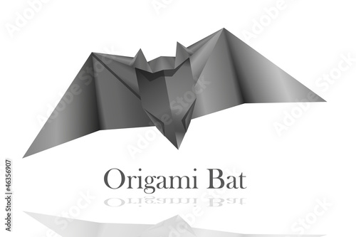 Origami Bat Stock Image And Royalty Free Vector Files On Fotolia