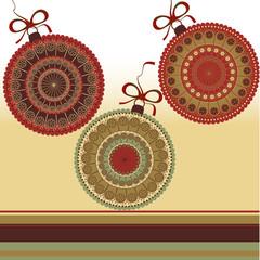 Christmas illustration - greeting card