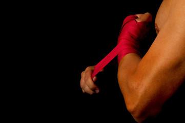 dressing fists