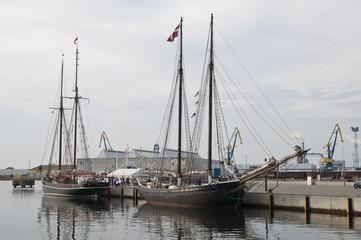 Alter Hafen, Wismar, Mecklenburg-Vorpommern, Deutschland