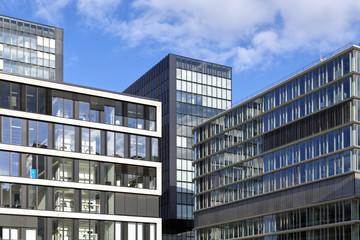 Bürogebäude in Düsseldorf, Deutschland