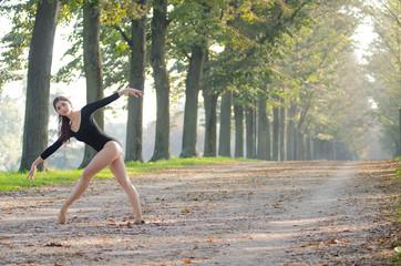 Ballerina nel bosco