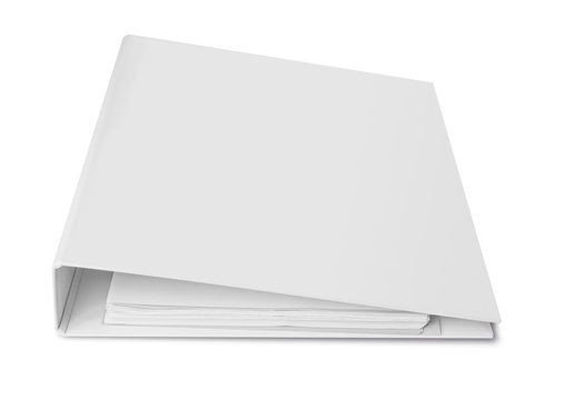 Blank binder for documents