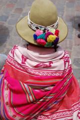 Femme péruvienne - Amérique du Sud