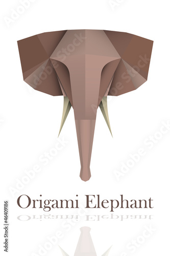 Origami Elephant Stock Image And Royalty Free Vector Files On