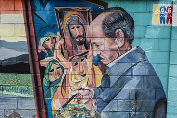 Photo sur Plexiglas Imagination murales andino