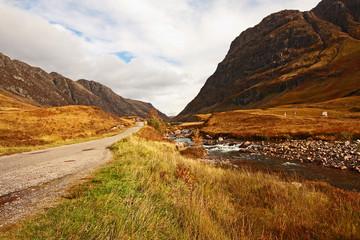 Glencoe, Scottish highlands, Scotland, UK