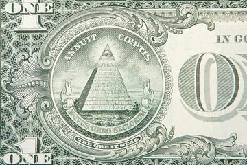 a one dollar bill .