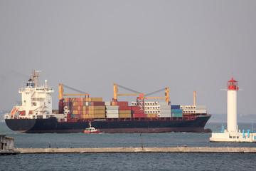 Big bulk-carrier with cardo
