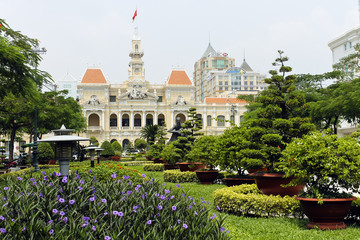 Palazzo Del Comitato Del Popolo Di Ho Chi Minh