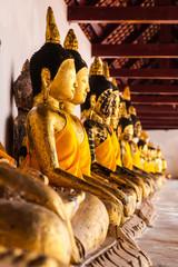 Buddha at Wat pratat chaiya