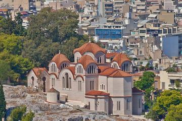 st.Marei under Acropolis of Athens, Greece