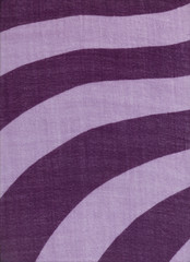 High resolution thin wool fabric with pink and purple swirls