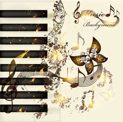 Art music background