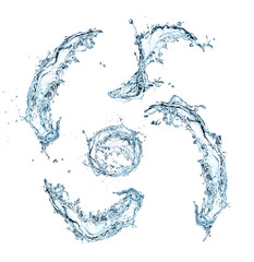 Special symbols of water alphabet
