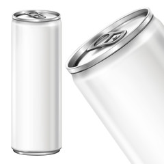 Can on white background - white