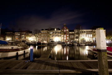 Beautiful shots of dordrecht by night