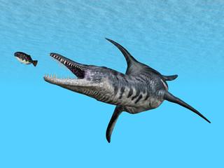 Liopleurodon auf der Jagd