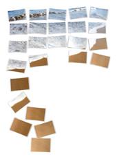 Fotocollage Draufsicht - Strandfoto