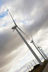instalaciones energéticas, molinos de viento