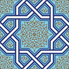 Ashkezar Seamless Floral Pattern