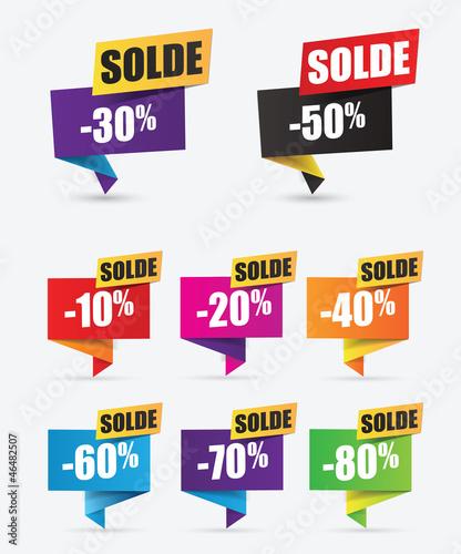 Soldes r duction tiquettes promo vente flash fichier - Discount vente flash ...