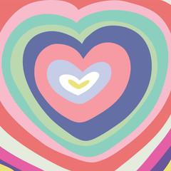 Big color heart.