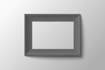 stylish black and white frame