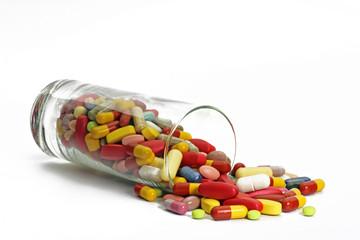 tabletten in glas
