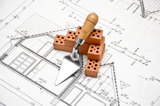 Hausbau Einfamilienhaus
