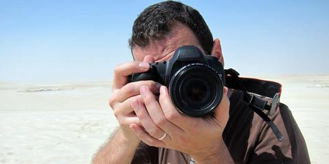 Photographe desert