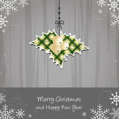 Merry Christmas and Happy New Year - mistletoe