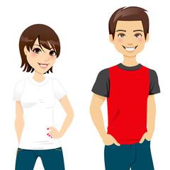 Summer T-shirt Couple