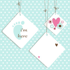 Baby Shower - Greetings Card