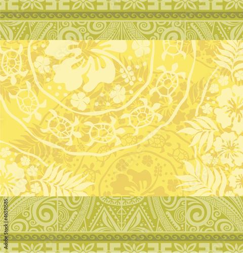 "Polynesian Tribal Wallpaper: ""Hawaiian Tribal Wallpaper"" Stock Image And Royalty-free"