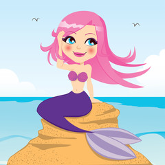 Papiers peints Mermaid Beautiful Mermaid